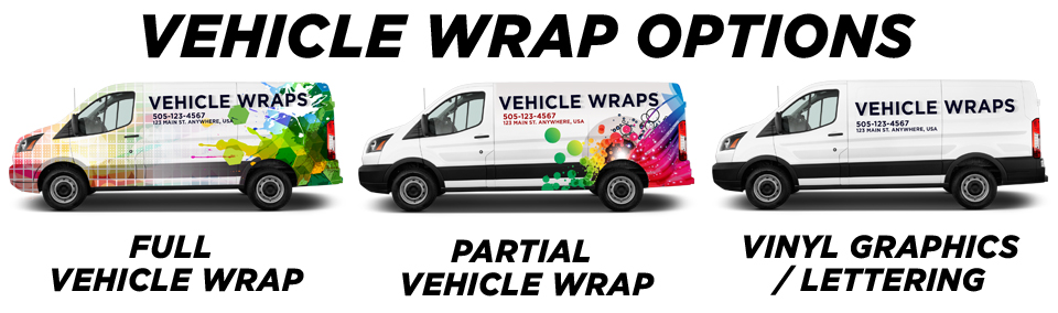 Seattle Vehicle Wraps & Graphics vehicle wrap options
