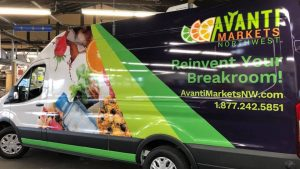 full van vehicle wrap