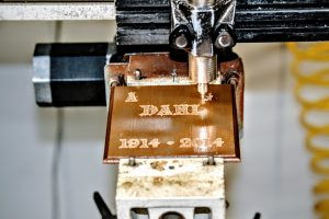 Custom sign engraving